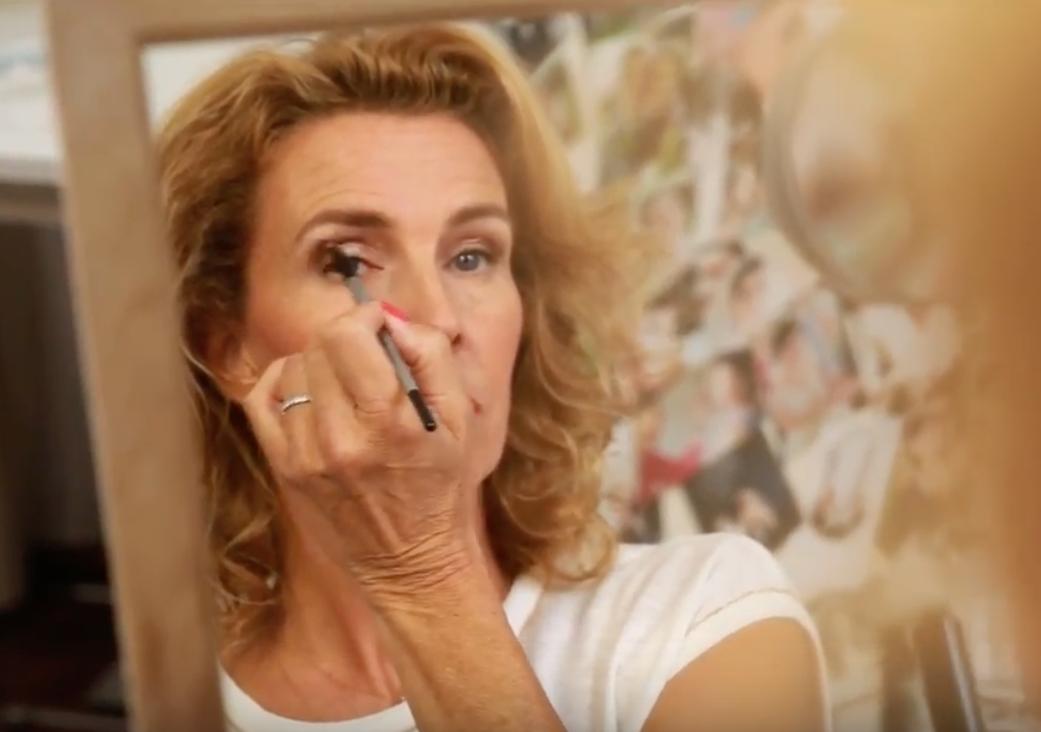 Maquillage des yeux après 45 ans