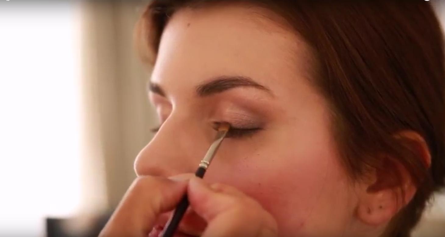 Maquillage discret des yeux