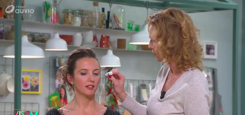 Se faire maquiller par Anouchka de Bellefroid